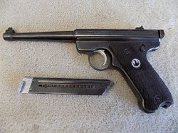 Ruger pistol sold at auction