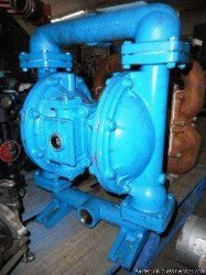 Industrial diaphragm pump sold at auction