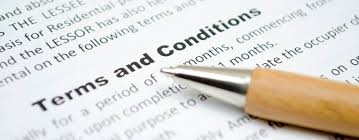 Auction Terms and conditions