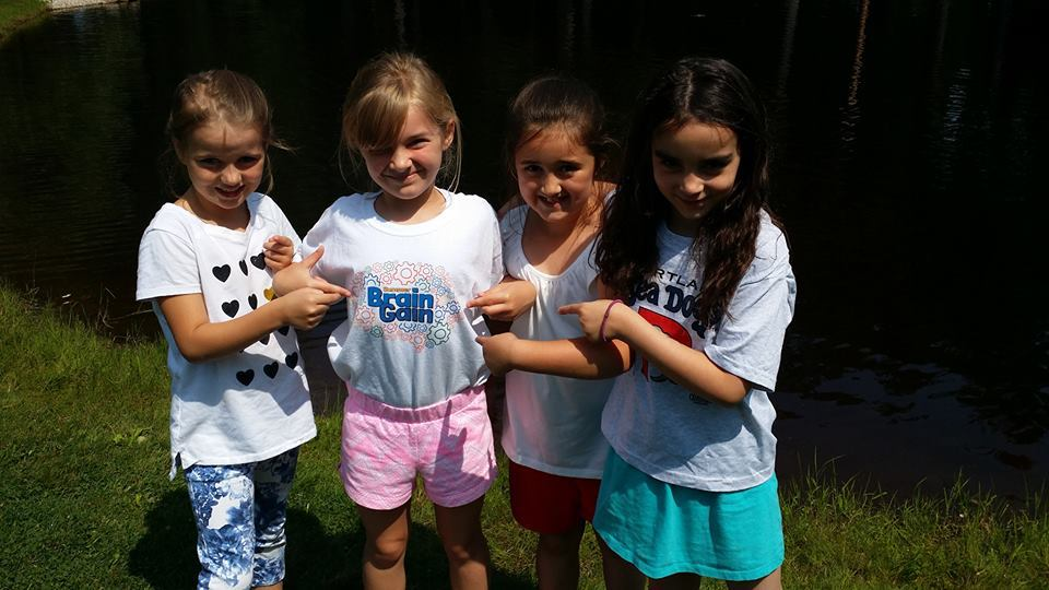 Summer Brain Gain programming for 6-9 year olds