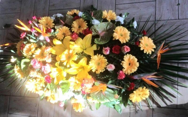 Cuscini di fiori per ricorrenze