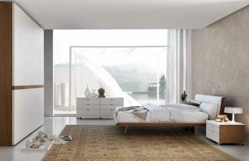 Camera da letto stile moderno Zanette