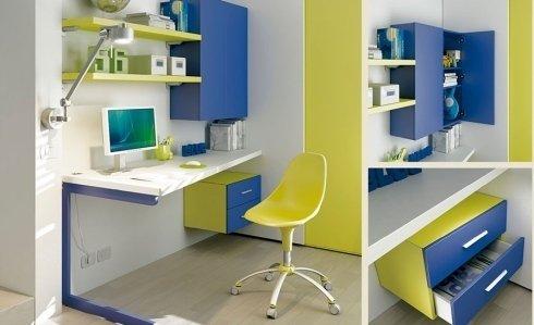 Angolo studio cameretta Moretti Compact
