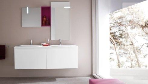 Mobile bagno con pensili Birex