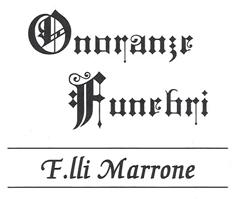 ONORANZE FUNEBRI F.LLI MARRONE - LOGO