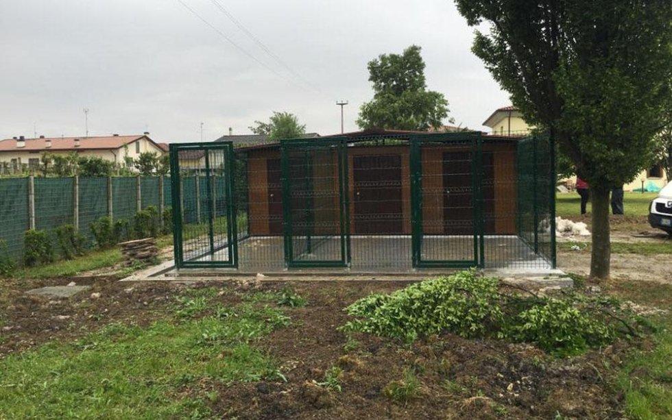 recinzione per cani / box cani