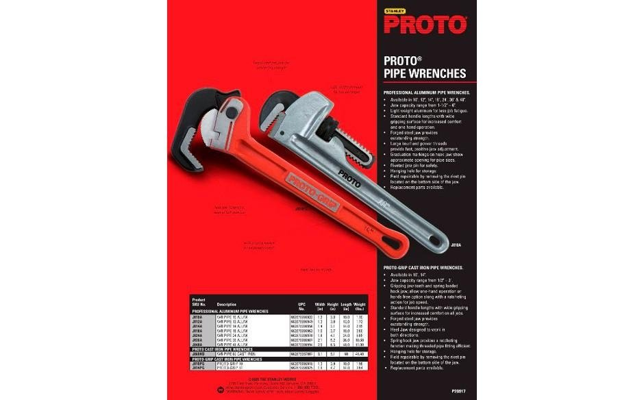 Proto - Pipe Wrenches