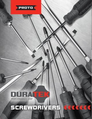 Proto DuraTek Screwdriver
