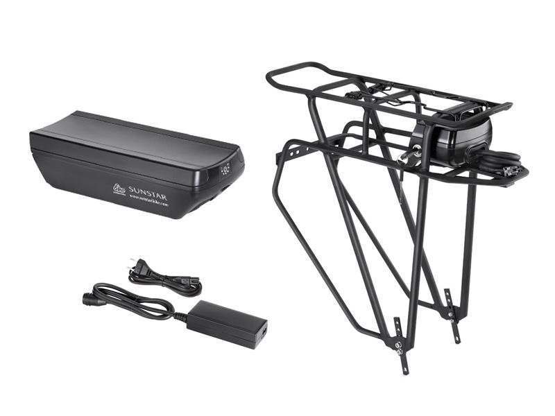 batteria e caricatore bici elettrica