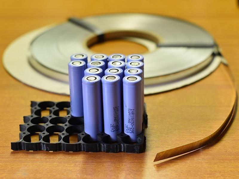serie di batterie per bici