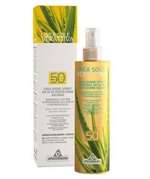 emulsione-spray alta protezione Specchiasol