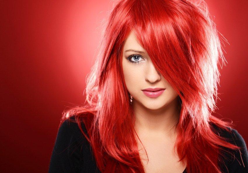 dark burgundy colour hair