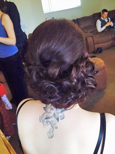 custom tied hair knots