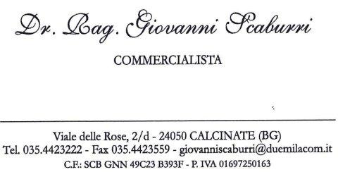 Rag. Giovanni Scaburri