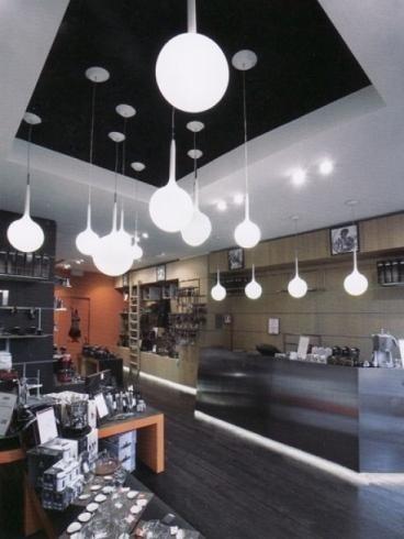lampadari per attività commerciali