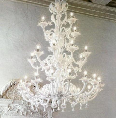 lampadario murano classico