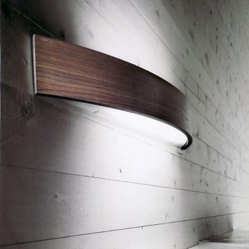 applique legno con led
