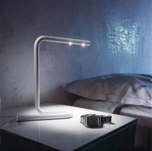 lampada comodino con led