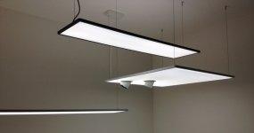 illuminazione a led da ufficio, progettazione installazione