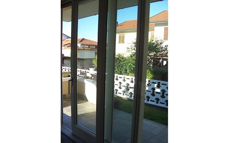 Serramenti in legno e alluminio solaro milano saronno - Porta finestra alluminio ...