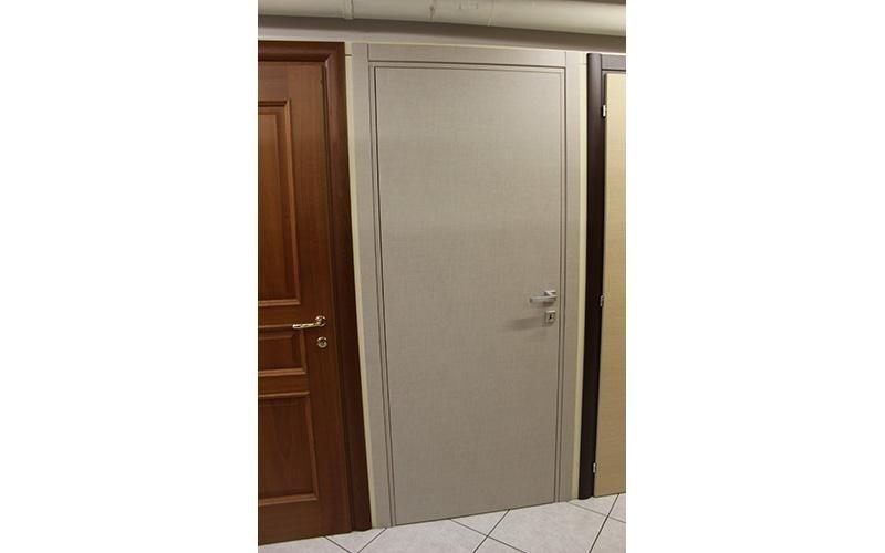 Porta alluminio e legno