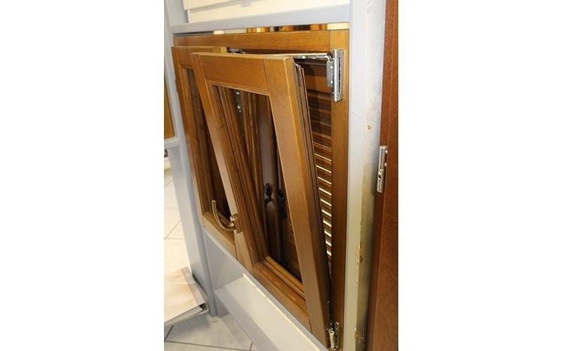 Showroom finestre in legno