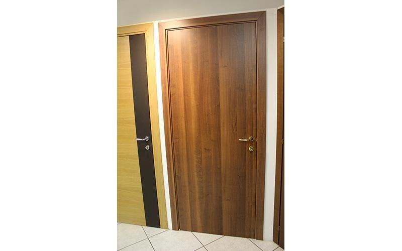 Porta legno e alluminio