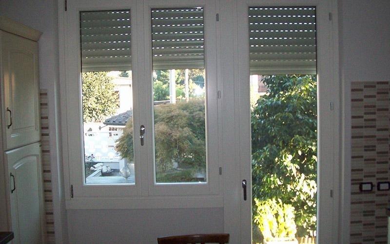 Finestra e porta finestra
