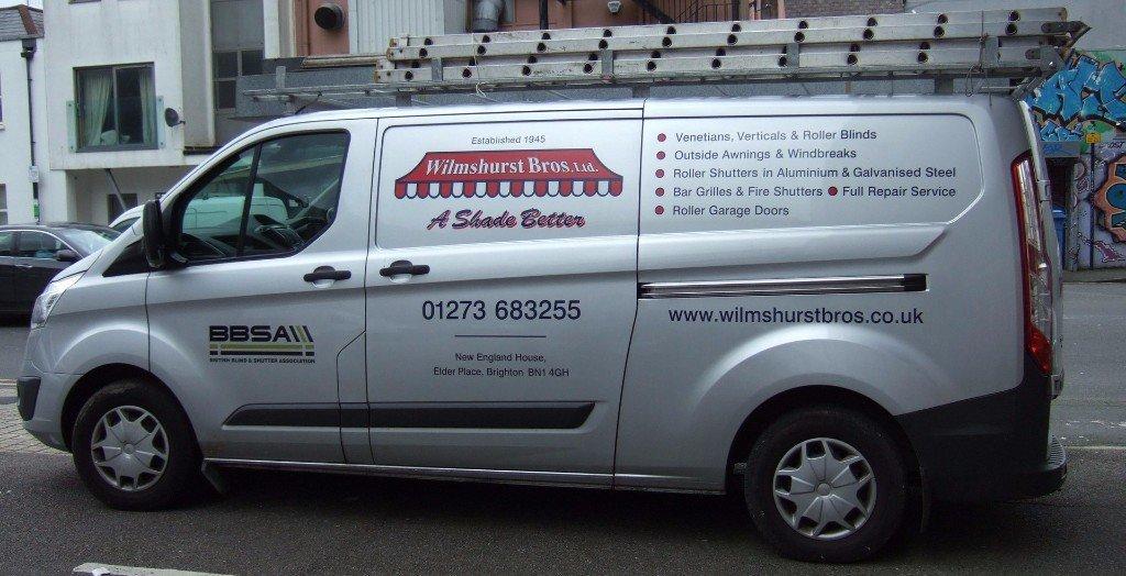 Wilmshurst Bros Ltd van