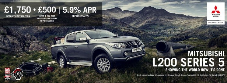 Mitsubishi L200 Retains it's 'Best Pickup' Title at the