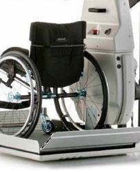 ascensore per disabili