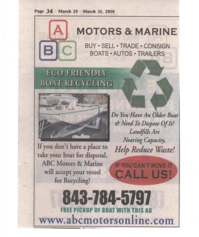Used Boat Parts, Savannah, GA