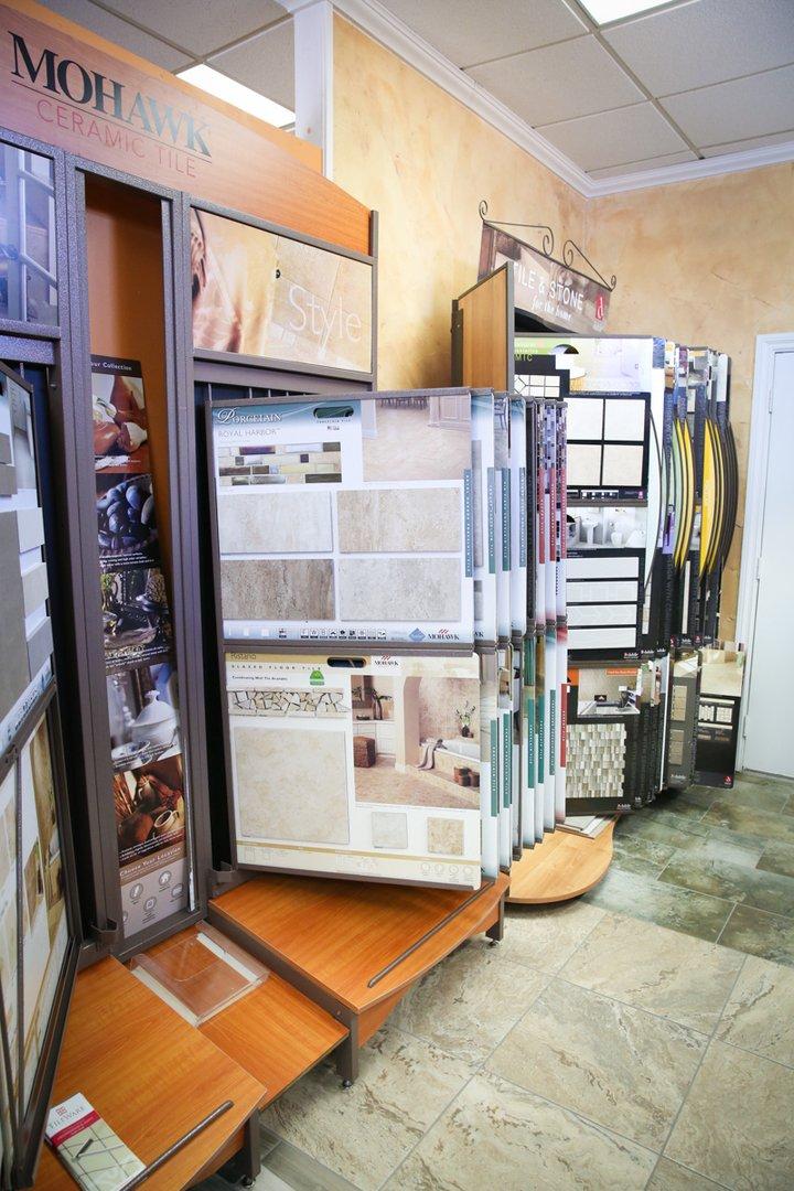 Robinson S Interiors Hanford Showroom Flooring