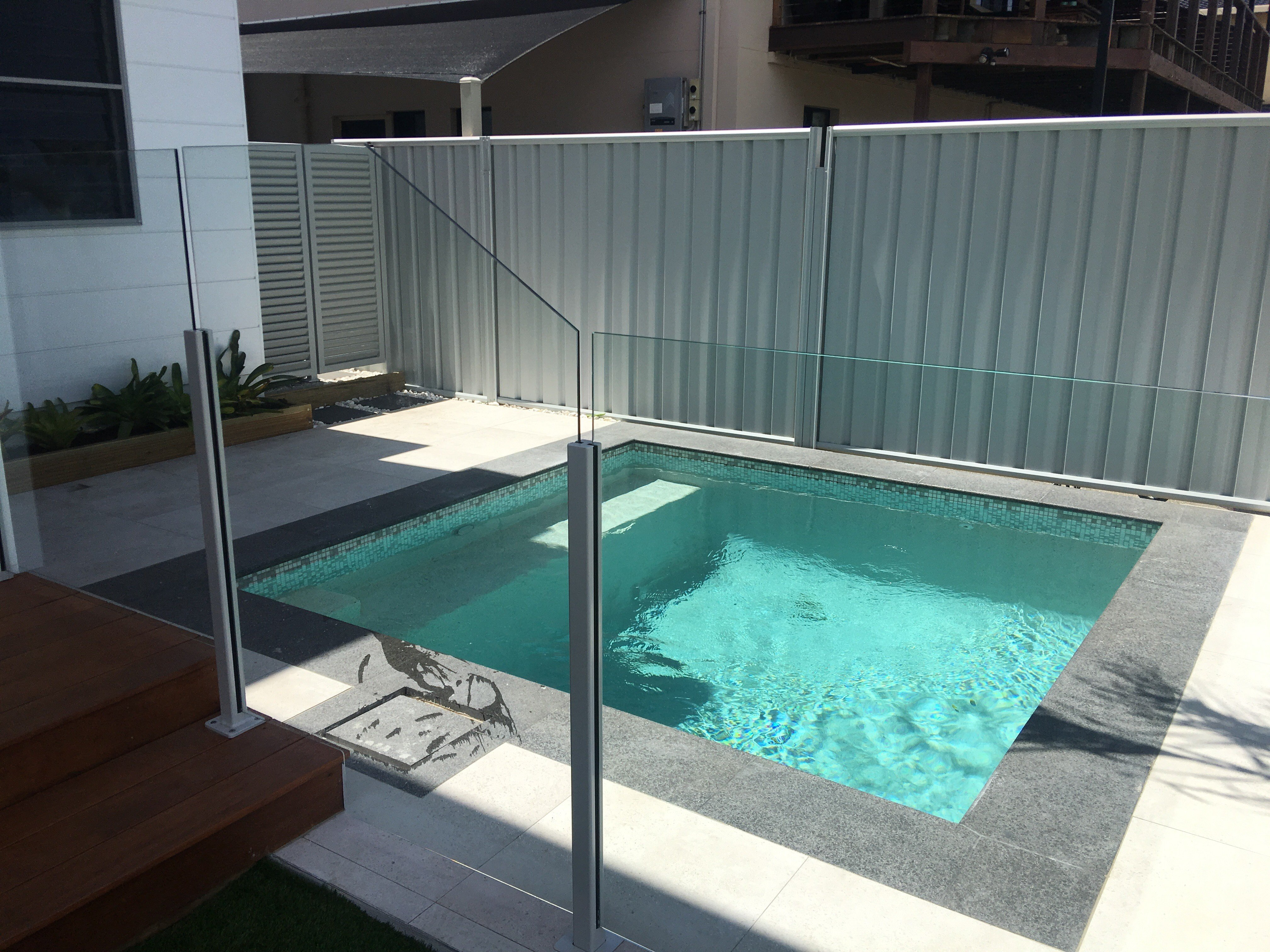 Our premier glass fencing on the Gold Coast