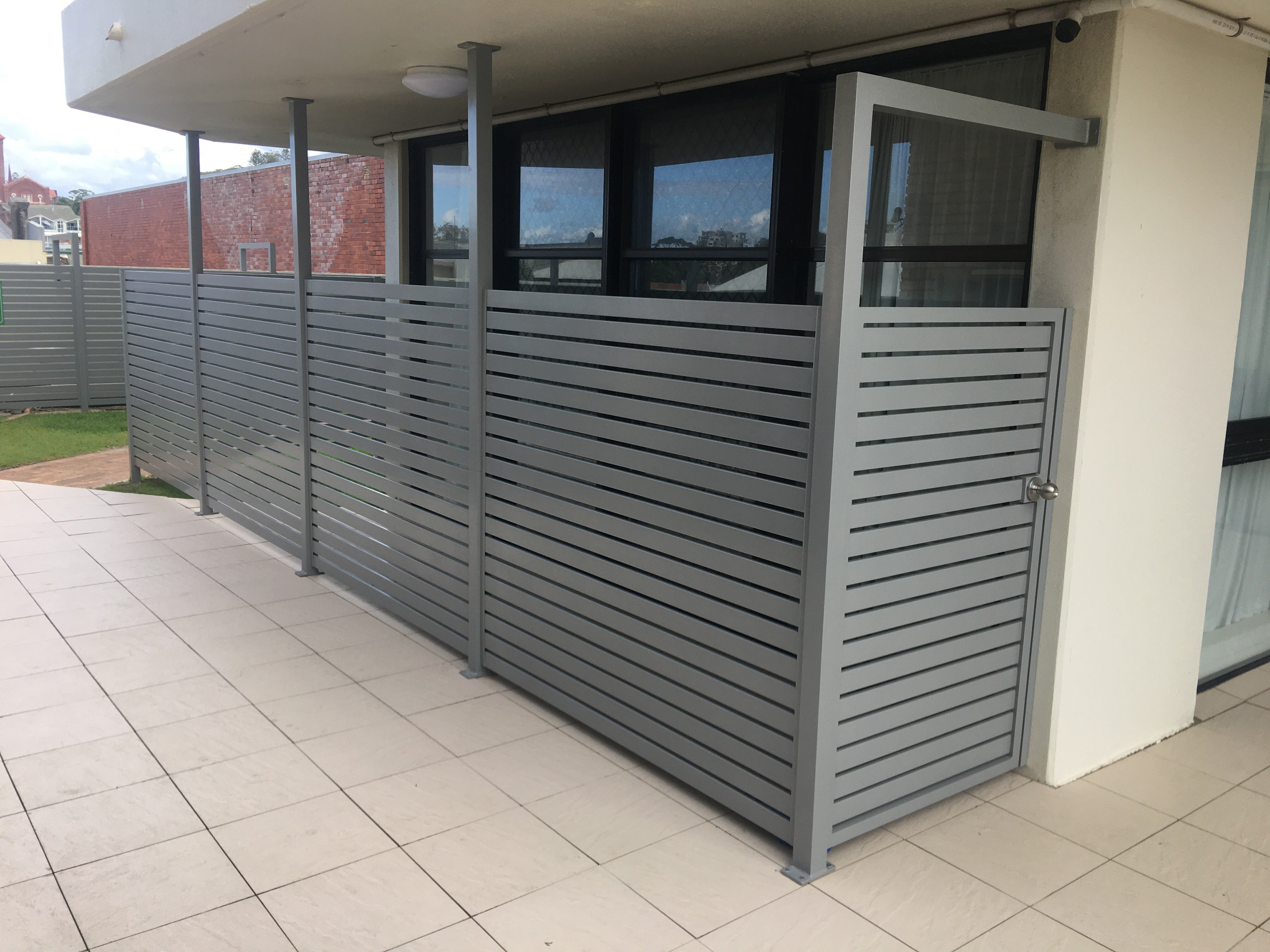 Example of our gates on the Gold Coast
