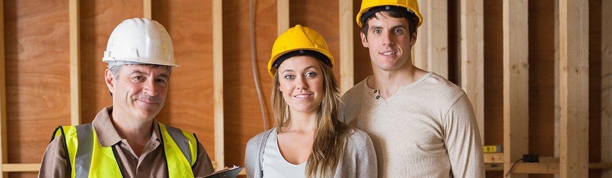 McGahan building contractors contact page hero image