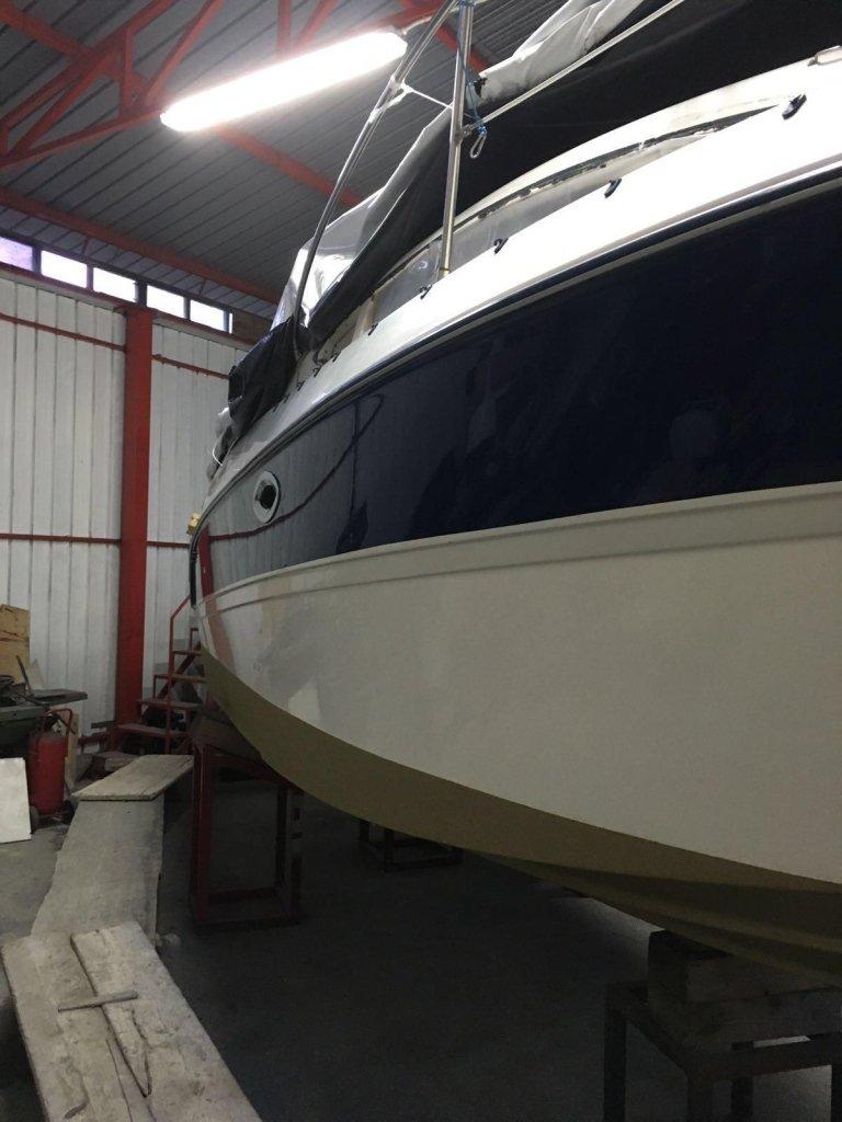 verniciatura imbarcazione