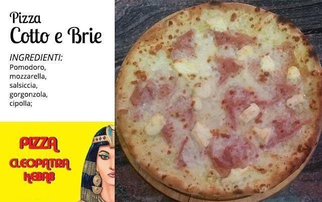 Pizza Cotto e Brie