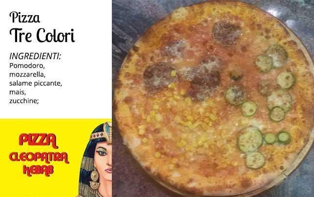 Pizza tre colori