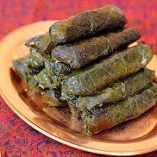un piatto di specialità egiziane