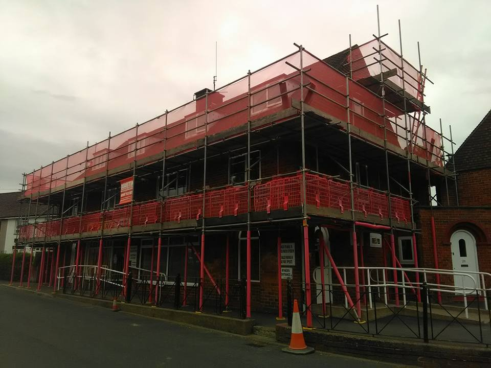 new build scaffolding services