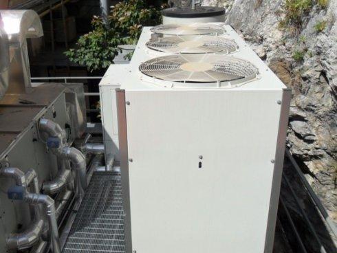 Impianto di climatizzazione e condizionamento realizzato all