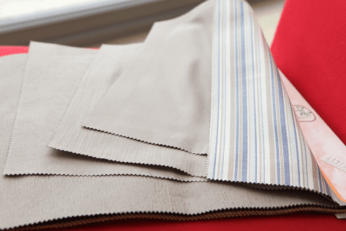 Satin cotton/polyester - Various designs - Colour range