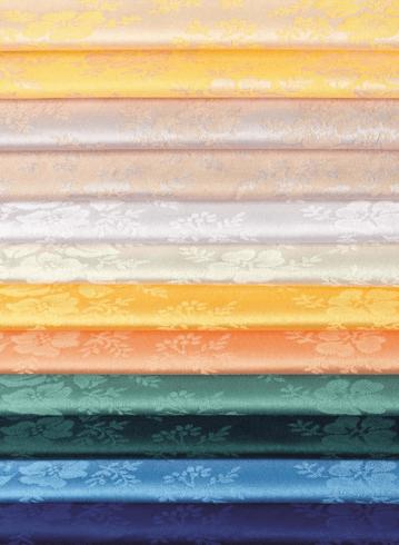 Satin cotton/polyester - Taormina - Colour range