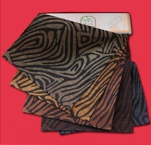 Rustici cotone lino - Africa gamma colori