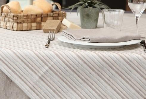 Cotton classics - Panama Stripes taupe