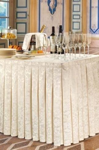 Satin cotton/polyester - Baroque Cream