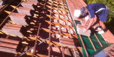 allproperty roofing new roof tile installing