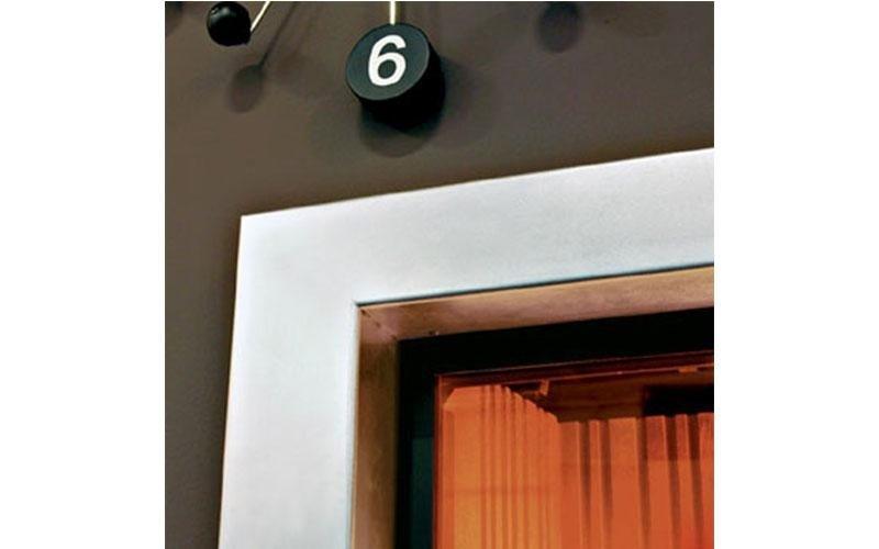 caminetto moderno angolo dettaglio