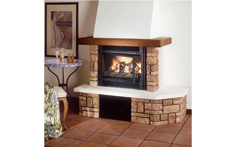 caminetti tradizionali pietra e legno